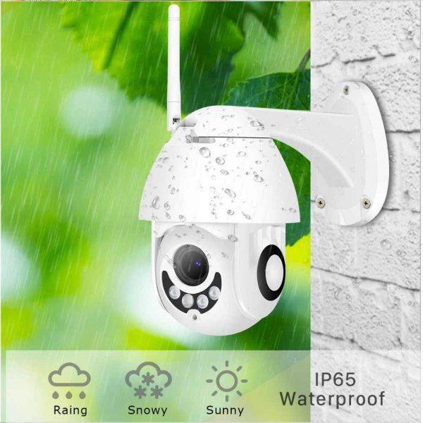 BESDER-1080P-H-265-Speed-Dome-Outdoor-WiFi-Wireless-Pan-Tilt-IP-Camera-2-Way-Audio
