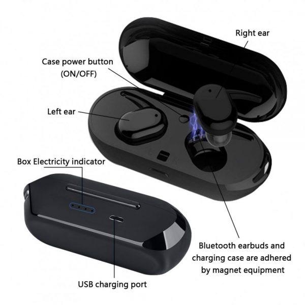 Безжични слушалки Sport Wireless TWS 4 v5.0